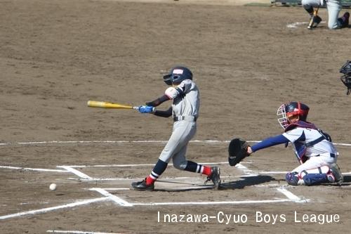 VS名古屋東ボーイズ戦